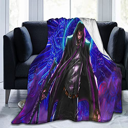 Bridget Moynahan Keanu Reeves John wick Favorites Classic Alfie Allen Manta decorativa multifunción, tamaño de viaje súper suave y mullida para sofá y cama, estampado 3D marrón Pascua