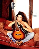 Shania Twain Signiert Autogramme 25cm x 20cm Foto