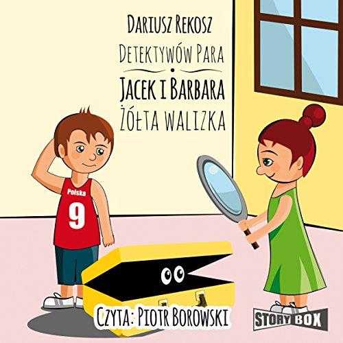 Zólta walizka (Detektywów para - Jacek i Barbara 2) audiobook cover art