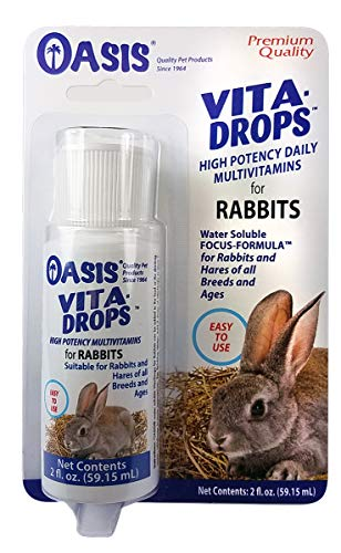 OASIS #80062 Rabbit Vita Drops, 2-Ounce