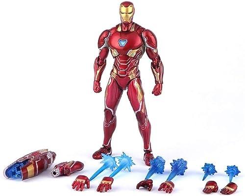 Ahorre hasta un 70% de descuento. Xiao huang huang huang li Puede Hacer una Variedad de acción Modelando a los Vengadores Guerra Infinita SHF Mk50 Iron Man  venta con descuento