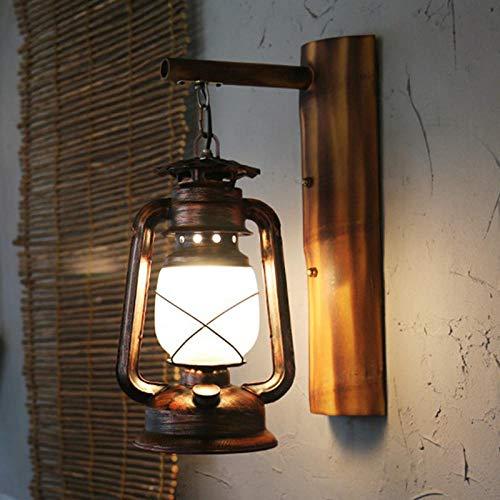Lampen verlichting wandlamp staande lamp retro nostalgische smeedijzeren bamboe persoonlijkheid designerlantaarns gamma bar loft antiek alllee balkon wandlamp