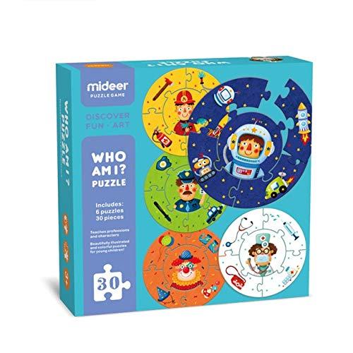 Who Am I Puzzle, Color (Multicolor) (MD3035)