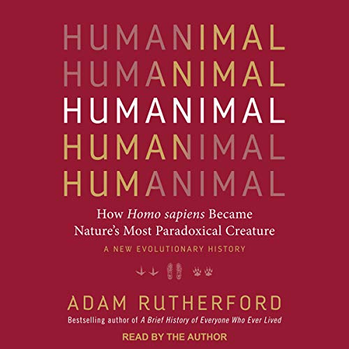 Humanimal audiobook cover art