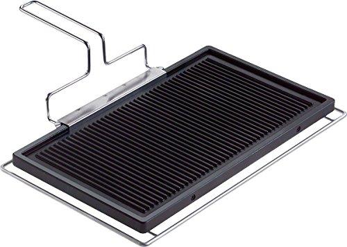 Miele CSGP Grillplatte (für CombiSets, Grillplatte) schwarz