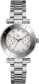 Guess Collection - Reloj Analógico para Mujer de Cuarzo con Correa en Acero Inoxidable I30500L1