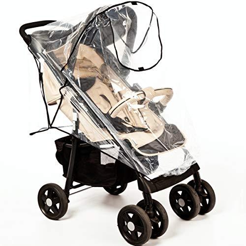 UNIVERSAL Regenverdeck/Regenschutz mit DACH für Buggy Kinderwagen Sportwagen Jogger