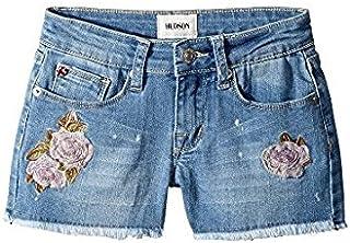 ハドソン Hudson Kids キッズ 女の子 ショーツ ハーフパンツ Whatever Wash Raw Hem Shorts in Whatever [並行輸入品]