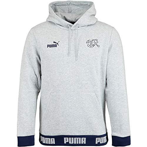 Puma SFV Football Culture - Sudadera con capucha (talla L), color gris