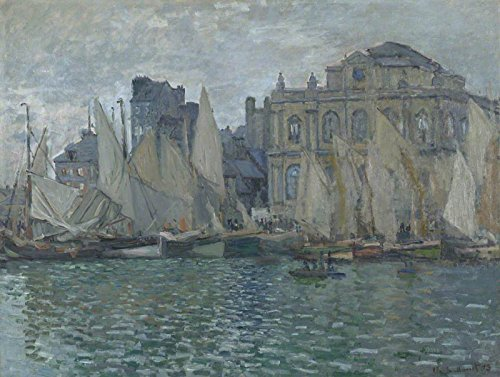"""Claude Oscar Monet The Museum at Le Havre National Gallery - London 30"""" x"""