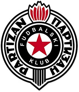 FK Partizan - Serbia Football Soccer Futbol - Car Sticker - 6