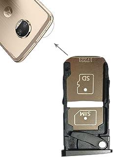 Förnyelse Reparation för skärmskydd SIM-kortfack + Micro SD-kortfack för Motorola Moto Z2 Force Accessory