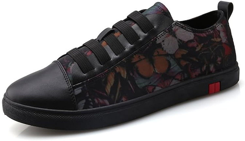 MUMUWU Men's Fashion Sneaker Flat Heel Lace Up Leisure Sports shoes Carrier