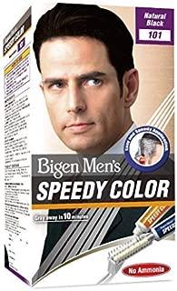 Bigen Men's Speedy Color, Natural Black 101, 80g