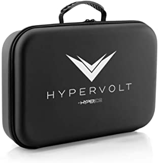 Hyperice Hypervolt Carrying Case, 2019 5 Attachment Slots Portable Storage Box, Hard Shell Case for Hyperice Hypervolt Portable Massage Gun tombert