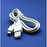 Mini USB VMC-14UMB, VMC-14UMB2 - Cable Cord Lead Wire for Sony Alpha, Cybershot, NEX and SLT DSC-F707, DSC-F717, DSC-F717E, DSC-F77, DSC-F828, DSC-FX77, DSC-G1, DSC-H1, DSC-H2, DSC-H5, DSC-L1, DSC-P1, DSC-P10, DSC-P12, DSC-P2, DSC-P20, DSC-P3, DSC-P30, DSC-P31, DSC-P32, DSC-P41, DSC-P43, DSC-P5, DSC-P50, DSC-P51, DSC-P52, DSC-P7, DSC-P71, DSC-P72, DSC-P73, DSC-P8, DSC-P9, DSC-P92, DSC-P93, DSC-P93A Digital Camera Cable - 2.5 Feet white – Bargains Depot