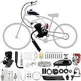 Niome 100cc 2-Stroke Bicycle Gasoline Engine Air-Cooled Motor Kit for Motorized Bicycle Push Bike (Black)