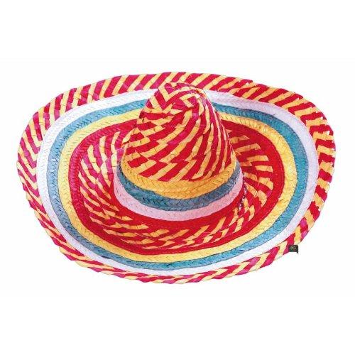 Party Pro 879001 mexicain Chapeau, Multicolore