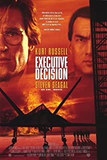 Executive Decision Movie Poster (11 x 17 Inches - 28cm x 44cm) (1996) Style A -(Mary Ellen Trainor)(Kurt Russell)(Halle Berry)(Oliver Platt)(John Leguizamo)(Steven Seagal)