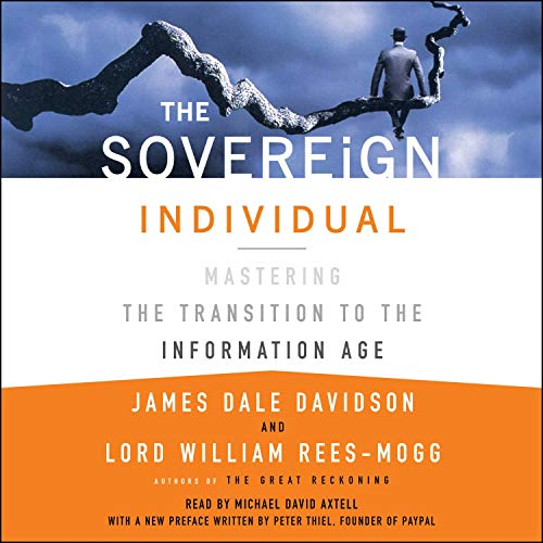 The Sovereign Individual audiobook cover art