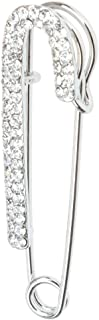 Sconosciuto Moda Donna Strass Spilla a Forma di Cuore Bouquet da Sposa Spilla Abito Cristallo Boutonniere Spilla Clip Fasc...