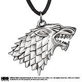 Juego de Tronos de la cadena dominante de la casa Stark Schattenwolf el regalo para los fans de 7,5 cm de largo