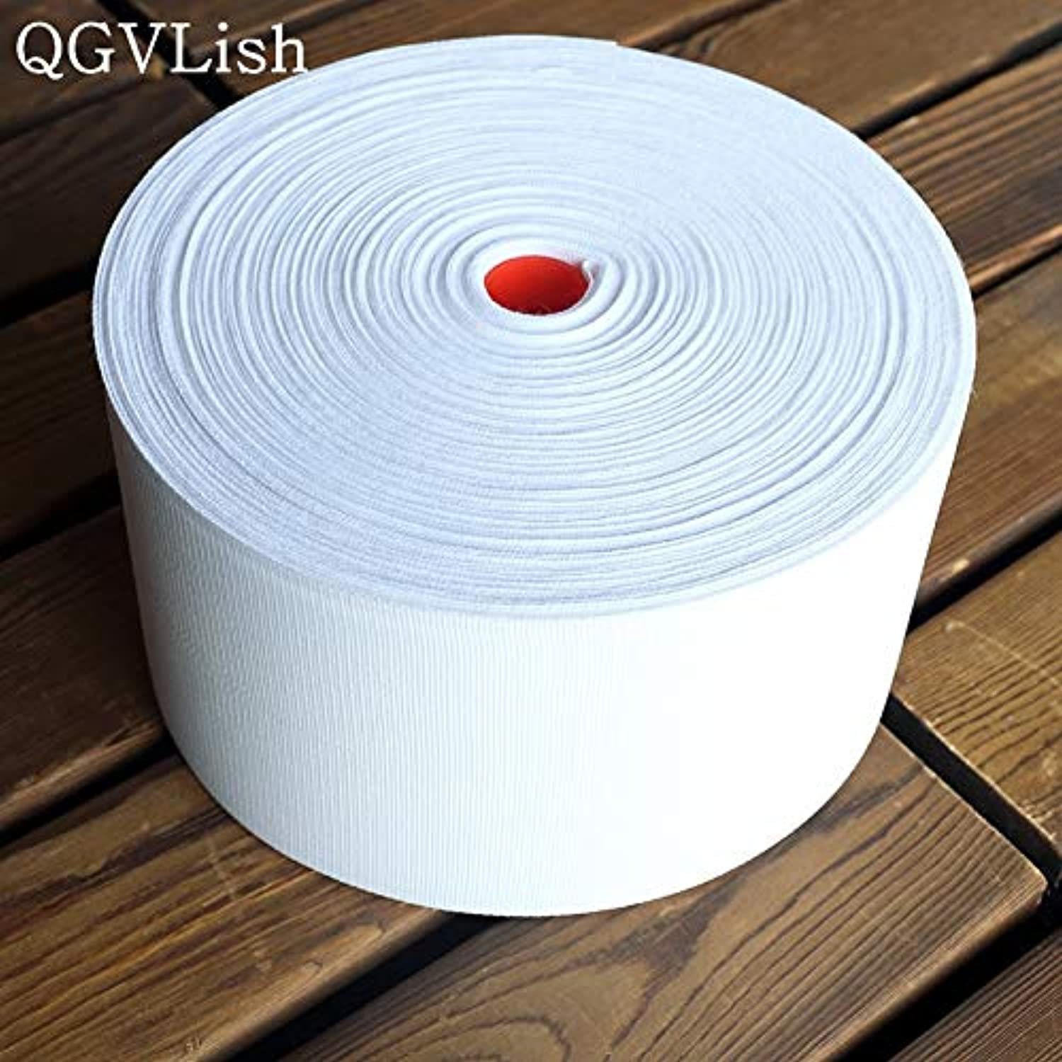Isali White Woven Curtain Tape for Rod Tie Rings Roman Circle Curtain Accessories Ribbon Belt Curtain Drapery Holes Sunscreen  (color  10M, Length  10CM)