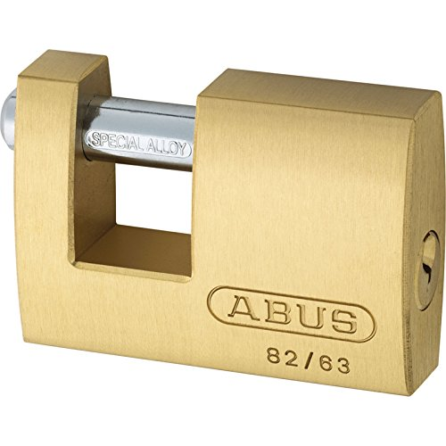 Advanced Abus 63 mm 82 Series monobloque de latón obturador candado c