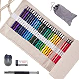 Scriptract Colored Pencils 48 Count Set, Oil Based...