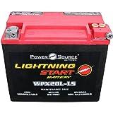 YTX20HL-BS YTX20HL YTX20L-BS YTX20L GYZ20HL 4011496 Replacemnt Battery 500cca Lightning Start...