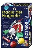 Kosmos 654146 Fun Science - Magie der Magnete, Erforsche unsichtbare Kräfte und baue dir einen Kompass, Experimentierset für Einsteiger