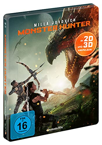 Produktbild von Monster Hunter - Limited Steelbook (3D + 2D) [Blu-ray]
