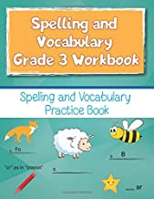 Spelling and Vocabulary Grade 3 Workbook: Spelling and Vocabulary Practice Book