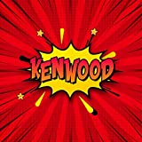 Kenwood: Draw Your Own Comic Super Hero Adventures with this Personalized Vintage Theme Birthday Gift Pop Art Blank Comic Storyboard Book for Kenwood | 150 pages with variety of templates