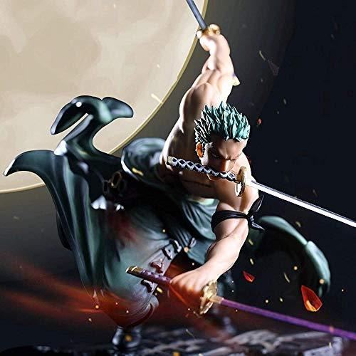 Anime Figuras Juguetes One Piece Roronoa Zoro Tres mil Combate Mundial Figuras Figuras Anime Figurine PVC Zoro Figura de acción Colección Modelo de Juguete