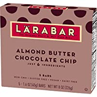 40-Count Larabar Almond Butter Chocolate Chip Fruit and Nut Bar