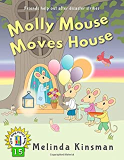 Molly Mouse Moves House: U.S. English Edition - Fun Rhyming Bedtime Story - Picture Book / Beginner Reader (Ages 3-6) (Top...