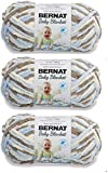 Bulk Buy: Bernat Baby Blanket Yarn (3-Pack) Little Cosmos 161103-3128