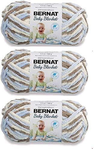 Bernat Baby Blanket Yarn (3-Pack) Little Cosmos 161103-3128