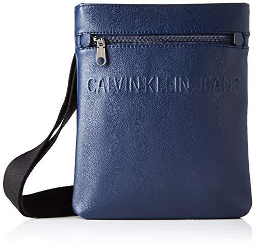 Calvin Klein Micro Pebble Eu Flat Pack, Sacs portés...