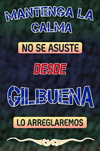Mantenga la calma no se asuste desde Gilbuena lo arreglaremos: Cuaderno | Diario | Diario | Página alineada