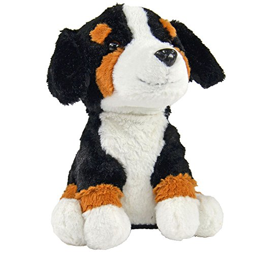 Kögler 75912 - Laber Berner Sennenhund Bernd, Labertier mit Aufnahme- und Wiedergabefunktion, plappert alles witzig nach und bewegt sich, ca. 18 cm groß, ideal als Geschenk für Jungen und Mädchen