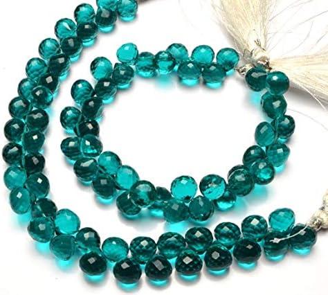 GEMS-WORLD Beads Gemstone 1 Strand Color Quartz Sacramento Mall Fa Hydro Apatite Bombing free shipping