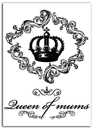 Lady Toga mem300 Vintage Queen Plasticised Stof Strijkplank Zwart 15 x 21 x 0,1 cm