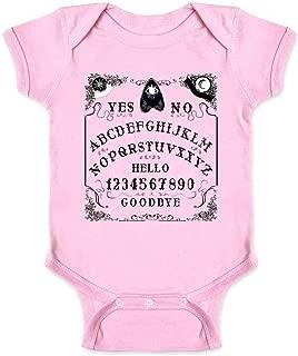 Ouija Board Seance Spirit Board Design Costume Infant Baby Boy Girl Bodysuit