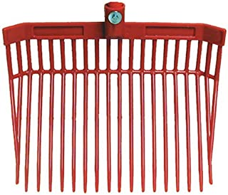 Intrepid International Fab Fork Replacement Head-Stall Shaving Fork, Red