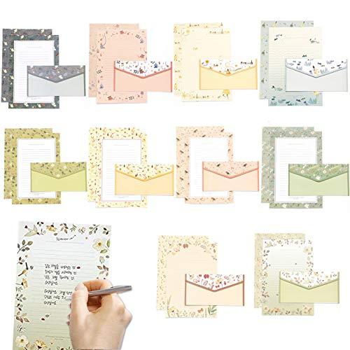 30pcs Briefpapier mit Umschlag,Briefpapier-Set,Briefpapiere und Briefumschlag,Briefpapier Briefumschläge,Umschlägen/Briefpapier,Briefumschlägen und Schreibpapier,weihnachtsbriefpapier mit umschlag