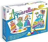 Sentosphere - Aquarellum Junior princesas de la flores, juego creativo (075696) , color/modelo surtido