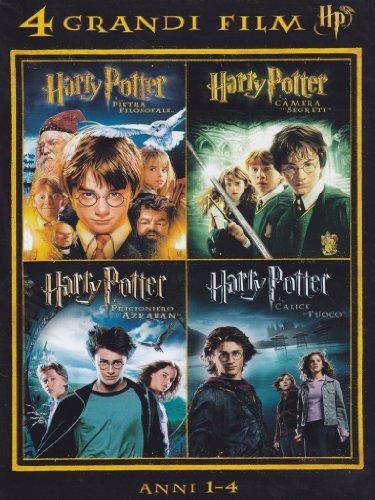 harry potter   4 grandi film #01 (4 dvd) box set dvd Italian Import by peter mullan