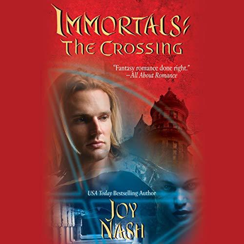 Immortals: The Crossing audiobook cover art